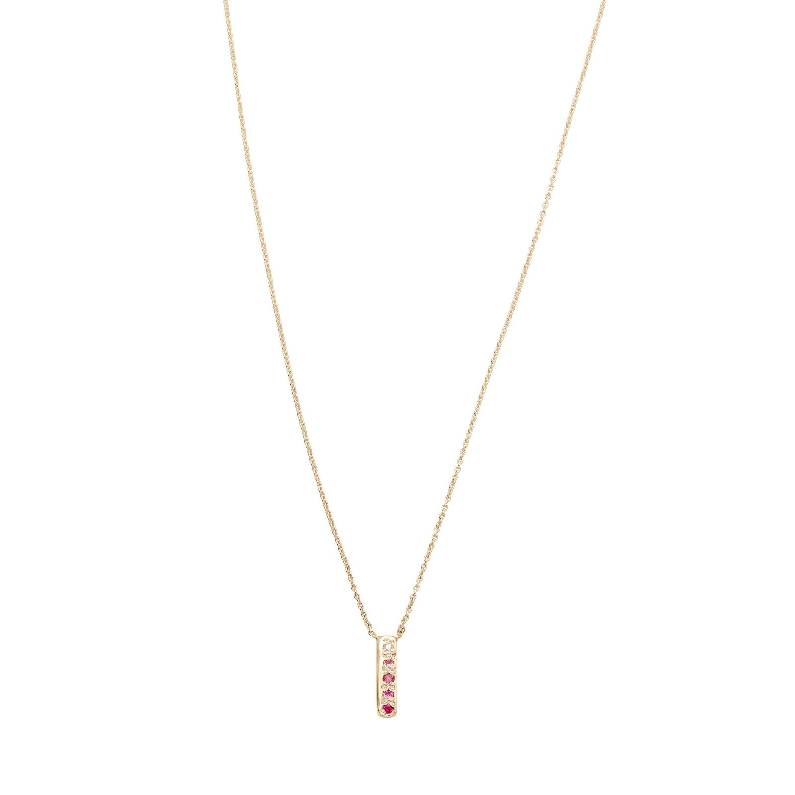 Skinny Bar Necklace - Personalized