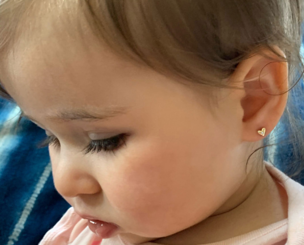 First Earrings for Baby - Stud Earrings