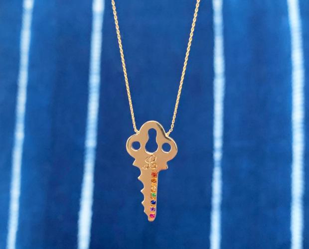 Custom Key Necklace